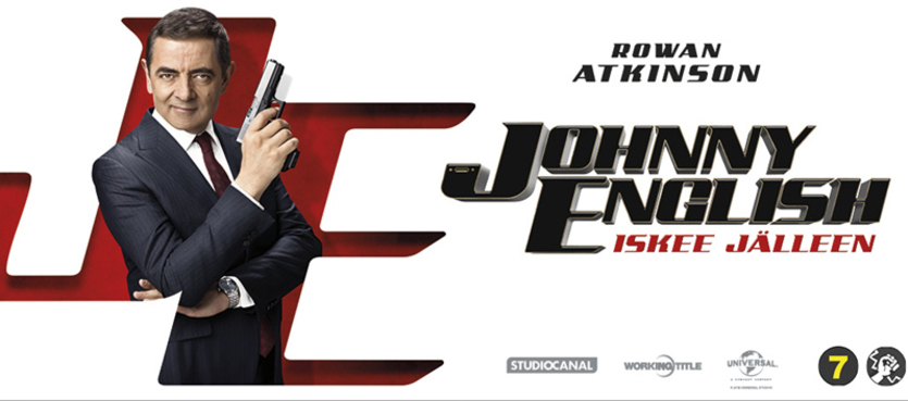 Johnny English iskee jälleen